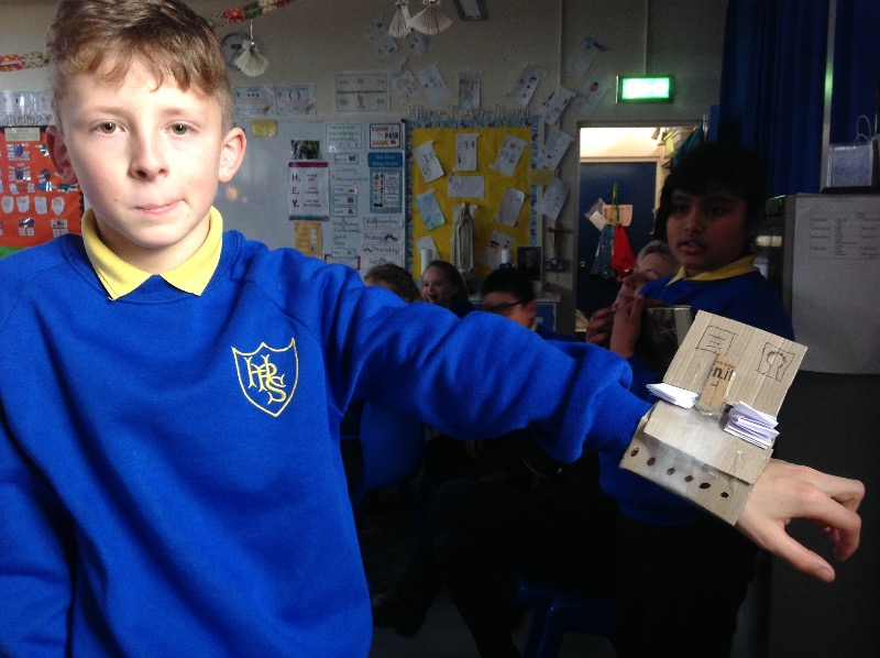 Jack has designed an amazing time travelling watch!
